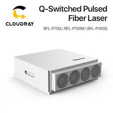 Raycus Q Switched Pulsed Laser Source 70100w Gold Siver Metal Color Marking
