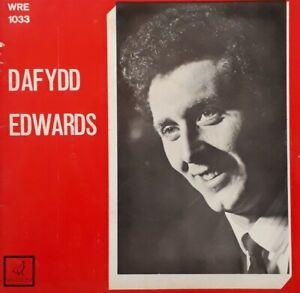 """Dafydd Edwards 7"""" EP Single.Wren WRE 1033.Dacw'r Ardal Dacw'r Hafan+"""