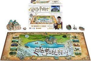 Harry Potter Wizarding World Hogwarts & Hogsmeade 4D Cityscape Puzzle