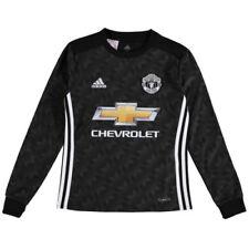Camiseta de fútbol de clubes internacionales negros sin usada en partido