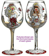Bride To Be Lady Party Wine Glass