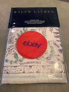 New! Ralph Lauren Alessandra Standard Sham Cream Multi Ardley Floral Pillow