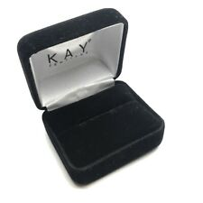 Kay Jewelers Empty Black Velvet Ring Box(small)