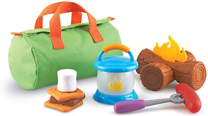 Learning Resources New Sprouts Camp Out!, Imaginative Play, Camping Toy, Outdoor