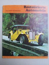 Restaurierte Automobile - Halwart Schrader