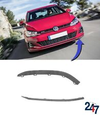 NEW VW GOLF GTI MK7 2012 - 2017 FRONT BUMPER LOWER SPOILER LIP LEFT N/S