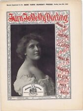 Turn To Me My Darling, newspaper supplement sheet music,  1902