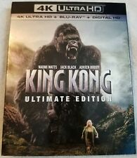 King Kong Ultimate Edition 4K (4K Disc, Blu-ray Disc, Special Feature) Slipcover