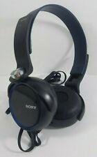 Sony MDR-XB400 Headphones Black Blue