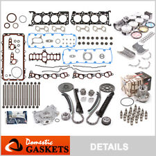 Fit 97-99 Ford Lincoln 5.4L 2V SOHC Master Engine Rebuild Kit Non-Power Improved