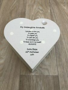 Goddaughter or ANY NAME Personalised Birthday Christmas Gift Christening