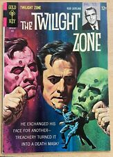 TWILIGHT ZONE #22 (Gold Key,7/1967) FINE (F)  Groovy painted cover!Orlando art