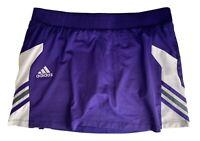 Women's Medium M Adidas Royal purple Golf Tennis Workout Skirt Skort ClimaLite