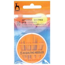 PONY BETWEENS / QUILTING HAND SEWING NEEDLES - SIZE 6,7,8 & 9 -GOLD EYE PK OF 20