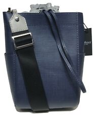 NWT Botkier Woman's Saffiano Leather Shoulder Bag, Navy Blue Color MSRP: $198.00