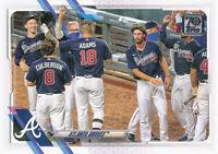 2021 Topps Series 1 #194 Atlanta Braves Team Card