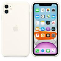 Genuine / Original Apple Silicone Case for iPhone 11 - White - MWVX2ZM/A - New