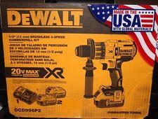 DEWALT DRILL MODEL DCD996P2 NEW Brushless Hammer Drill/Driver KIT