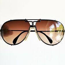 occhiali da sole CAZAL TARGA black sunglasses vintage drop sun rare 901 new lens