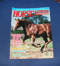 HORSE ILLUSTRATED JUNE 1993 - FLIES - THINGS THAT GO BUZZ DAY AND NIGHT