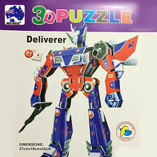 3D Foam Paper Model Transformers Puzzle DIY Craft Toy Kid Assembling GPUZZ0103