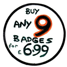 Buy Any 9 Badges From Our E-bay Shop for