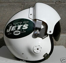 New York Jets Fighter Helmet - Football USAF Air Force S M L XL NYPD NYFD NYC