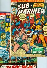 Sub-Mariner #64, #65, #66, #67, #68, #69, #70, and #71 FN