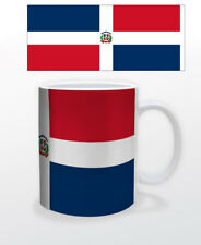 DOMINICAN REPUBLIC 11 OZ COFFEE MUG CUP FLAG DR DOMINICANA HISPANIOLA TOURISM!!!