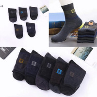 100% Soft Winter Warm Men Thick Thermal Wool Cashmere Casual Sport Socks