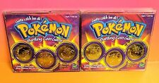 Pokemon Battling Coin Game Random 2 Pack 6 Coins total