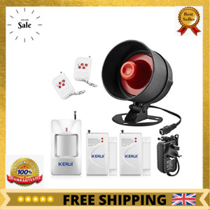 New The Newest KERUI Standalone Home Shop Security Alarm Garage Alarm Shed Alarm