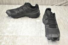 Salomon Speedcross 5 407935 Trail Running Shoe, Men's Size 12W, Black