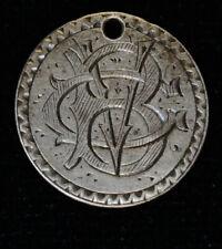 1856 Love Token Engraved BVG BGV VGB VBG GVB GBV silver Liberty Seated Dime
