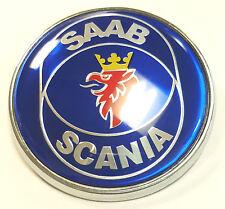 Saab 93 Bonnet Badge Emblem 9-3 95 9-5 2003-2010 68 mm 3 Pin
