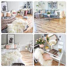 Genuine Giant Icelandic Sheepskin rug - Super Soft Extra Long Wool - Cream White