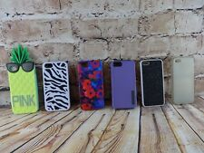 Lot of Phone Cases for i Phone 5 Model Style Pink Incipio Zebra 6 Cases Pieces
