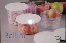 Bellini Kitchen Containers x 4 - Brand New
