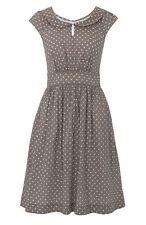 Knee-Length Polka Dot Tea Casual Dresses