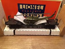 Lionel 16952 US Navy Flatcar  with ERTL Navy Helicopter New in Box!