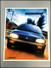 1995 Suzuki Swift Factory Original Car Sales Brochure Catalog