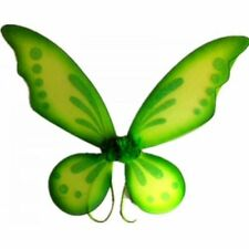 Green Adult Tinkerbell Pixie Butterfly Fairy Wings Dress Up Girls Costume