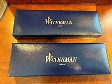 Vintage Waterman Paris Pen/Pencil Box Only- 2 Boxes available