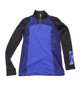 Bogner Women's Ski Sweater Jumper Rafaela Black Blue Size 36 S NEW