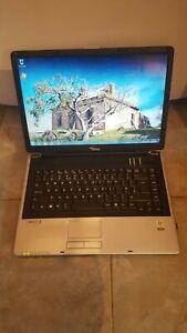 "Fujitsu Amilo Pi 1505 Laptop Notebook 15.4"" 512MB 200GB SSD Windows 7 Wi-Fi"