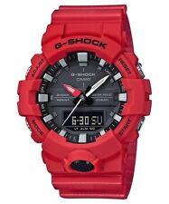 Casio G-Shock Red Analogue/Digital Athlete Watch GA800-4A GA-800-4A