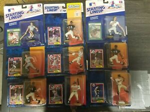 Starting Lineup 1989 & 1994 Baseball variety Lot of 9 New!