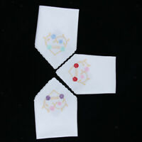 NEW WOMENS LADIES EMBROIDERED HANKIES HANKERCHIEFS PACK OF 3 GIFT