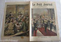 Le petit journal 1994 210 Les obsèques du tsar russie