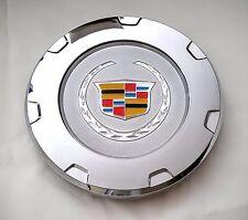 "CADILLAC 22"" WHEELS CENTER HUB CAP 2007-2014 ESCALADE 9596649 Chrome Color Logo"